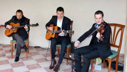 trio violoniste guitares swing manouche