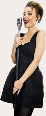Bianca chanteuse de jazz pour mariage