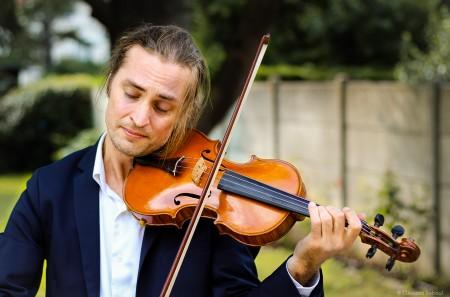 Guillaume violoniste jazz manouche