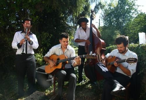 Quartet avec clarinette swing tzigane