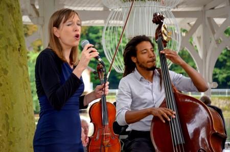 Mariage 30 Aout trio chant violon contrebasse guitare