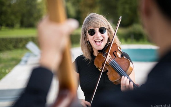 Photo Aurore violoniste jazz