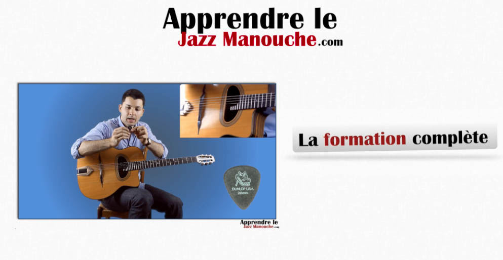 formation guitare jazz manouche