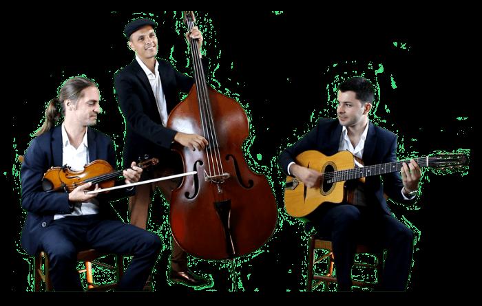 Trio jazz manouche mariage événements