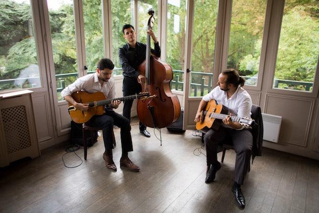 trio jazz manouche pour mariage