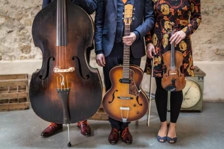 Trio jazz guitare violon contrebasse